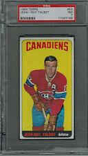 1964 Topps #52 Jean-Guy Talbot PSA 7