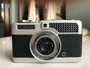 Canon Demi Half Frame 35mm Film Camera with 28mm, f2.8 Lens