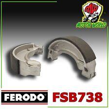 250 1998-1999 POSTERIORI TAMBURO GANASCE FRENO FERODO COMPATIBILE CON PIAGGIO/HEXAGON
