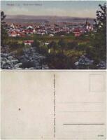 Ansichtskarte Kamenz Kamjenc Blick vom Hutberg 1918
