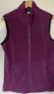 NEW Catmandoo Ladies Fleece Gilet Purple Size 8