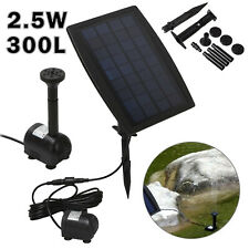 Solar Water PumpPowered Feature Pump Garden Pool Pond Aquarium Fountain