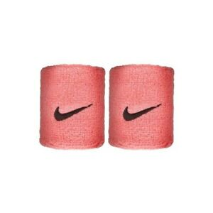 Nike Pink Swoosh Wristbands Tennis Football Running Gym Sports Sweatbands Unisex