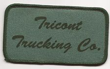 Tricont Trucking Co. driver patch 2-1/2x4-1/2 #384