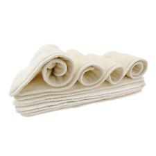 1pcs 5layers comfort microfiber& bamboo insert for ALVA BABY cloth diaper