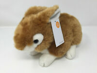JOHN LEWIS BROWN WHITE BUNNY RABBIT SOFT TOY PLUSH NEW WITH TAGS