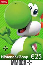Nintendo eShop Card 25 Euro per E-Mail Versand - Nintendo eShop Key 25€*