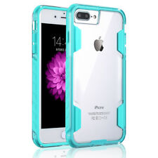 For iPhone 8 X 7 Plus Rubber Shockproof Heavy Duty Rugged Case Hard Clear Cover