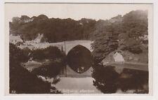 Aberdeenshire postcard - Brig O Balgownie, Aberdeen - RP