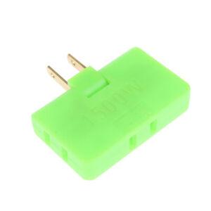 Rotatable Socket Converter 180 Degree Multi Plug Slim Wireless Outlet Adap DL
