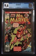 MS. MARVEL #1 CGC 9.6 WP Comics 1/77 1st Carol Danvers John Romita Spider-Man