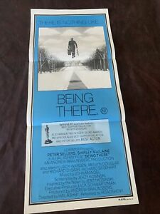 ORIGINAL VINTAGE MOVIE POSTER DAY BILL CINEMA BEING THERE PETER SELLERS