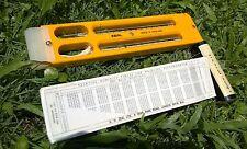 Sling Psychrometer / Whirling Hygrometer, Spirit Bulb Type, -5 to +50C, Zeal UK