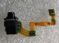 Conector para Auriculares Conexión de Audio Cable Flexible Mic Sony Xperia Z5