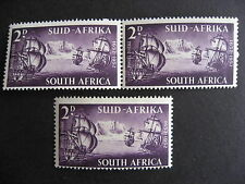 SOUTH AFRICA Sc 117 MH moon and slash plate varieties, check them out!