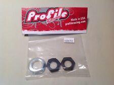 Profile Racing 14mm rear hub cone & jam nut kit