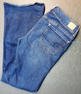 American Eagle Womens Artist Super Stretch Boot Cut Jeans Size 10 Sanitized