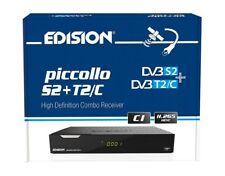 Edision piccollo S2+T2/C HD-Combo-Receiver H.265/HEVC schwarz