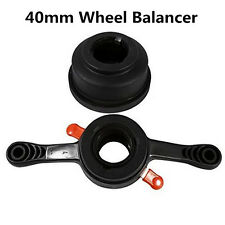 Car Auto 40mm Wheel Balancer Quick Release Wing Nut & Pressure Cup Hub Shaft Nut