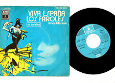 "IMCA MARINA.VIVA ESPANA / LOS FAROLES.SPANISH ORIG 7"" & PIC/SL.VG+"