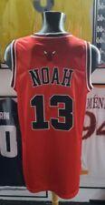 Maillot shirt jersey maglia trikot chicago bulls noah france NBA authentic satin