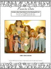 Pants for Dolls Clothes Sewing Pattern