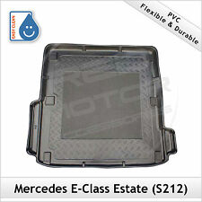 Mercedes E-Class S212 Estate 2009 onwards Tailored PVC Boot Liner Mat Bootmat