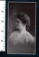 Pretty Victorian Girl..c.1900 Portrait Photo...NICE...#414t