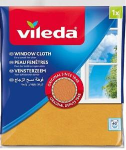 Original Vileda Window Glass Cleaning Cloth Clean Streak Fre Microfibre Reusable