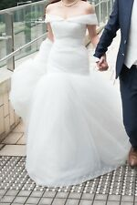 White Wedding Dress Size 8-10 Mermaid