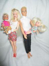 Barbie type dolls Family Bundle Kelly Shelly Simba Ken