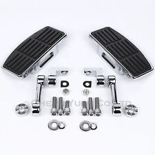 Adjustable D Floorboards Male Mount Foot Pegs for Harley Softail Dyna Sportster