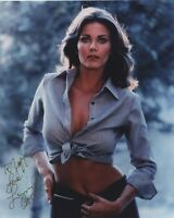 LYNDA CARTER SIGNED AUTOGRAPHED WONDERWOMAN COLOR PHOTO WOW!! TO JEFF!