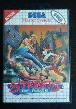 Streets of Rage - Sega Master System MS ++ OVP ++ WIE NEU ++