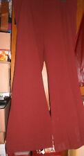 """Pantalon coloris """"brique"""" - JEAN-MARC PHILIPPE - Taille 8 (56) - NEUF !!!"""