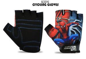 Kids Boys Girls Scooty Cycling Bike Gloves BMX MTB Bicycle Sports Cycle Gloves