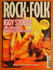 Rock & Folk 434 S du 10/2003-Iggy Stooge-Rock'n'Roll Gonzesses et tout le reste