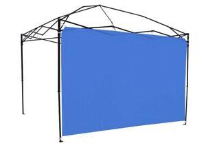 Ozark Trail Sun Wall for 10' x 10' Straight Leg Canopy (Accessory Only), Blue