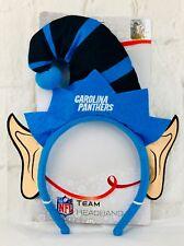 NFL Carolina Panthers Elf Ears Hat Headband Christmas Gift New Unisex