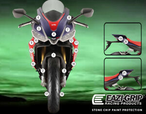 Motorcycle Stone Chip Protection PPF Aprilia RS 660 2021+