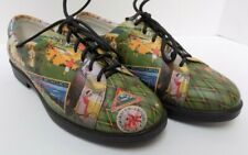Icon Wearable Art Womens Shoes Lace Ups Golf Theme Leather Size 8B