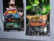 2018 HOT WHEELS POP CULTURE ALEX ROSS DC COMICS(RELEASE P) 5-PIECE SET W/RR