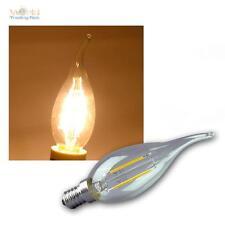 LED Colpo di vento Lampada della candela E14 Filamento K2 200lm bianco caldo