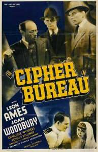 Cipher Bureau - 1938 - Leon Ames  Charles Lamont Vintage Spy Drama Film DVD