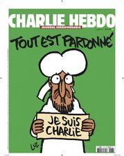 Charlie Hebdo n° 1178 du 14 janvier 2015 Tout est pardonné