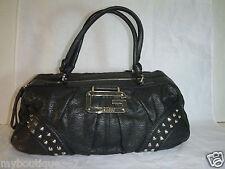 GUESS VIVE LE ROCK black satchel handbag purse new nwt