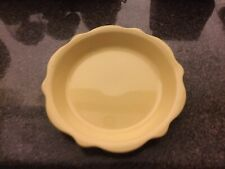 "Gail Pittman Pie Plate Dish 10"" Butter Yellow Hospitality Southern Living"