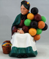 "Vintage Royal Doulton Lady Figurine ""The Old Balloon Seller""-England HN 1315"