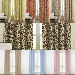 CLEARANCE Chelsea Dots Thermal Blackout Lined Pair Of Curtains - Free Postage
