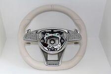 original Mercedes Amg Sport Lenkrad Designo Porcellain S63 S65 W222 W217 Coupe